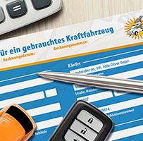 Kaufvertrag KFZ Autoankauf in München
